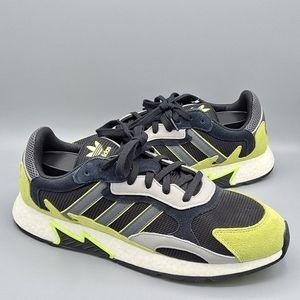 NEW Mens Adidas Tresc Run Mossy Green Boost Shoes